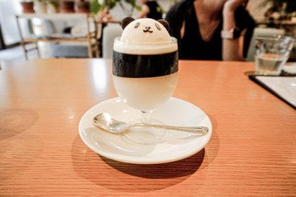 パンダコーヒーゼリー