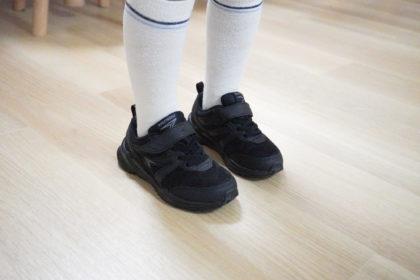 瞬足の靴を履いたよ