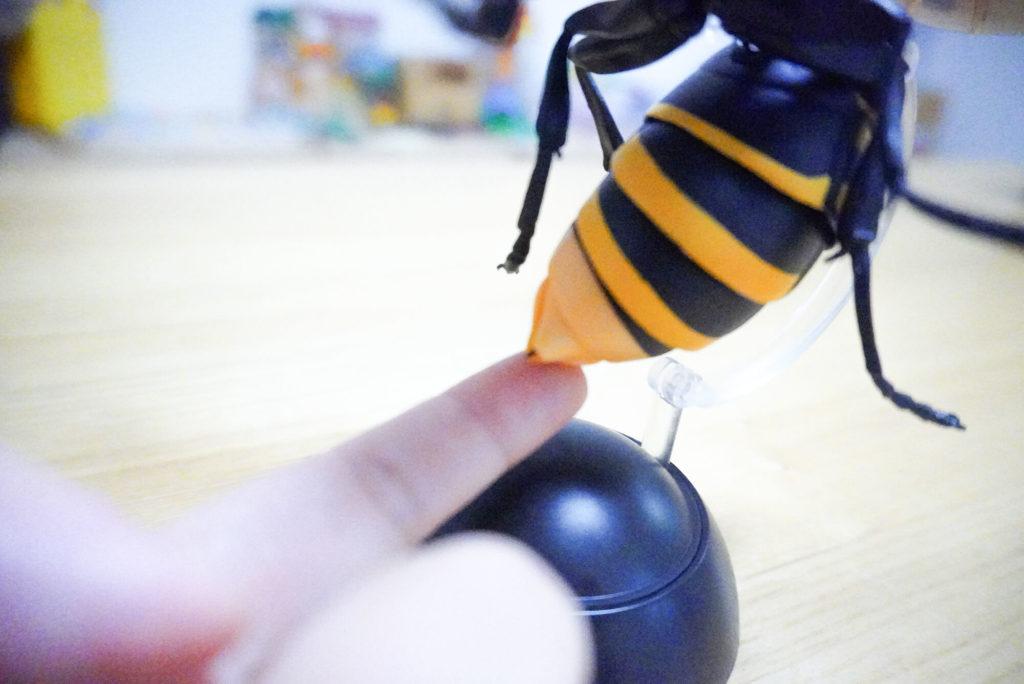 大スズメバチの毒針
