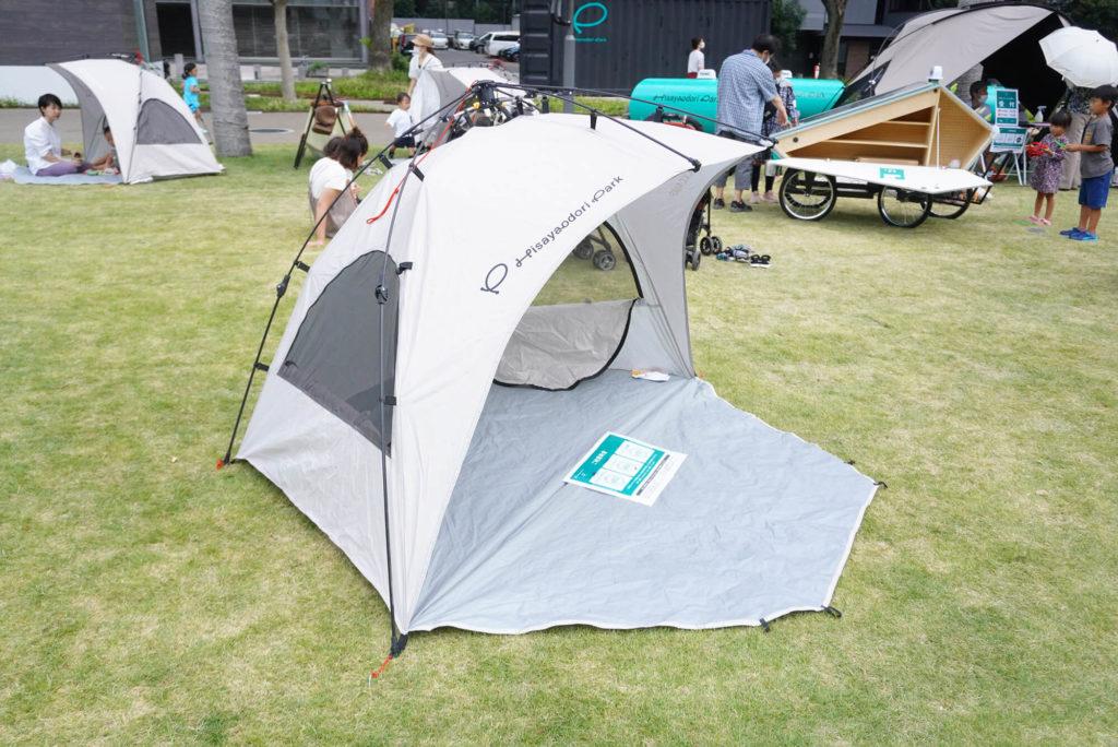 テントを借りてみました