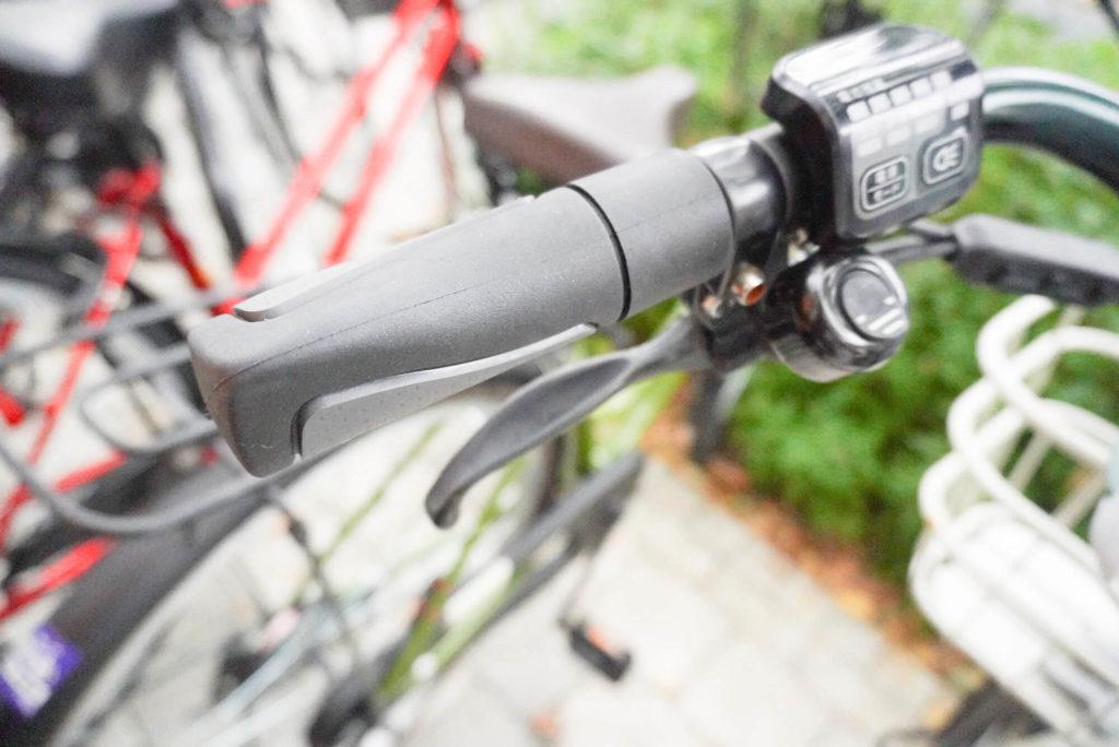 自転車のハンドル