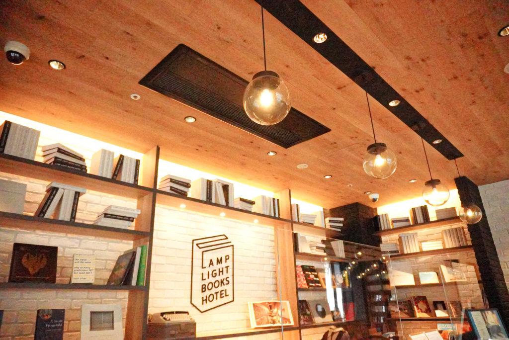 ランプカフェの店内